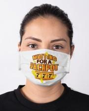 Gambler Waiting for a Jackpot 777 Gambling Fun Cloth face mask aos-face-mask-lifestyle-01