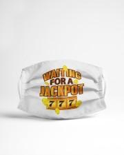 Gambler Waiting for a Jackpot 777 Gambling Fun Cloth face mask aos-face-mask-lifestyle-22