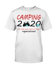 Camping 2020 The Year Classic T-Shirt front