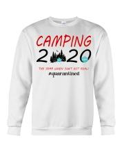 Camping 2020 The Year Crewneck Sweatshirt thumbnail