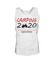 Camping 2020 The Year Unisex Tank thumbnail