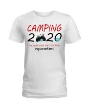 Camping 2020 The Year Ladies T-Shirt thumbnail