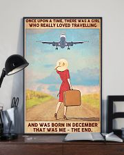 Girl Loves Travelling Born In December 24x36 Poster lifestyle-poster-2