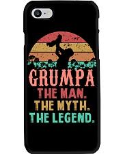 Grumpa The man The Myth Phone Case tile