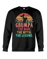 Grumpa The man The Myth Crewneck Sweatshirt tile