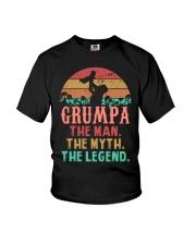 Grumpa The man The Myth Youth T-Shirt tile