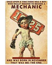 November Mechanic 24x36 Poster front