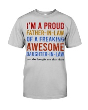 I'm A Proud Father-In-Law Classic T-Shirt front