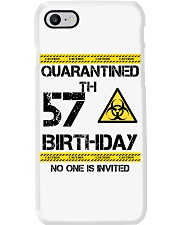 57th Birthday 57 Years Old Phone Case thumbnail