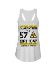57th Birthday 57 Years Old Ladies Flowy Tank thumbnail