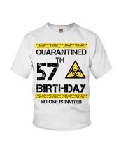 57th Birthday 57 Years Old Youth T-Shirt thumbnail