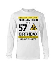 57th Birthday 57 Years Old Long Sleeve Tee thumbnail