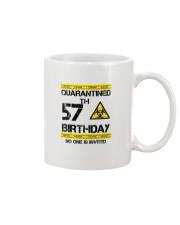 57th Birthday 57 Years Old Mug thumbnail