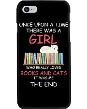 Reading Once Upon A Time A Girl Books Cats Phone Case thumbnail