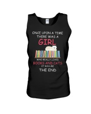 Reading Once Upon A Time A Girl Books Cats Unisex Tank thumbnail
