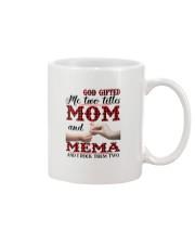 God Gifted Me Two Titles Mom And Mema Mug thumbnail