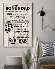 To My Bonus Dad 24x36 Poster lifestyle-poster-1