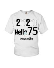 75th Birthday 75 Years Old Youth T-Shirt thumbnail