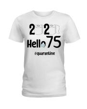 75th Birthday 75 Years Old Ladies T-Shirt thumbnail