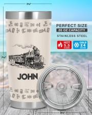 Train Personalized Christmas Gift 20oz Tumbler aos-20oz-tumbler-lifestyle-front-47