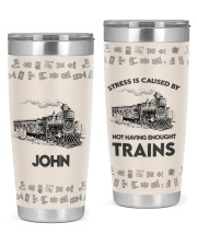 Train Personalized Christmas Gift 20oz Tumbler front