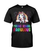 Middle School Fabulous Classic T-Shirt front