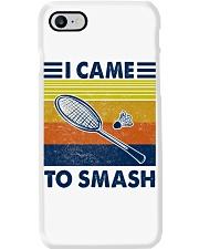 Badminton I Came To Smash Phone Case tile