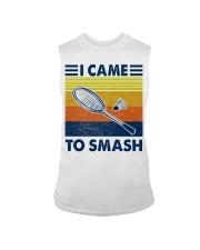 Badminton I Came To Smash Sleeveless Tee thumbnail