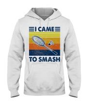 Badminton I Came To Smash Hooded Sweatshirt thumbnail