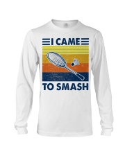 Badminton I Came To Smash Long Sleeve Tee thumbnail