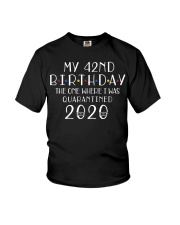 My 42nd Birthday The One Where I Was 42  years old Youth T-Shirt thumbnail