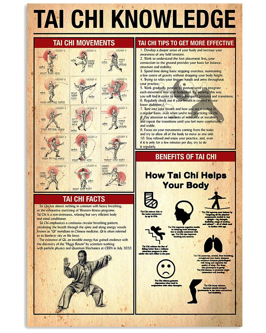 Tai chi knowledge 24x36 Poster
