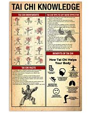 Tai chi knowledge 24x36 Poster front