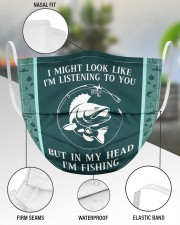 I Might Look Like I'm Listening To You-Fishing 3 Layer Face Mask - Single aos-face-mask-3-layers-lifestyle-front-49