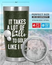 Golf Personalized-It takes a lot of balls Chrismas 20oz Tumbler aos-20oz-tumbler-lifestyle-front-47