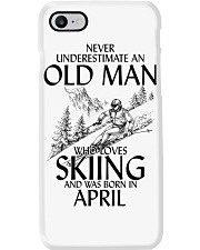 An Old Man Loves Skiing April Phone Case thumbnail