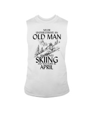 An Old Man Loves Skiing April Sleeveless Tee tile