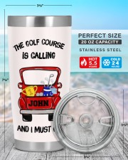 The golf course - Personalized Christmas Gift 20oz Tumbler aos-20oz-tumbler-lifestyle-front-47