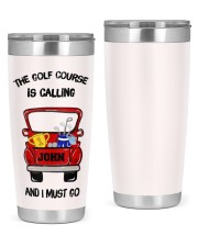 The golf course - Personalized Christmas Gift 20oz Tumbler front