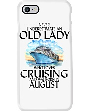 Never Underestimate Old Lady Cruising August Phone Case thumbnail