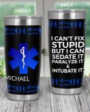 Paramedic I can't Fix Stupid Christmas Gift 20oz Tumbler aos-20oz-tumbler-lifestyle-front-59
