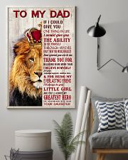 To My Dad If I Could Give You One Thing 24x36 Poster lifestyle-poster-1