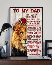 To My Dad If I Could Give You One Thing 24x36 Poster lifestyle-poster-2
