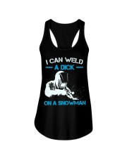 I Can Weld A Dick On A Snowman  Ladies Flowy Tank thumbnail