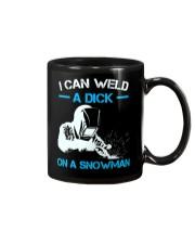 I Can Weld A Dick On A Snowman  Mug thumbnail