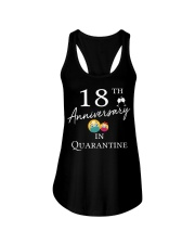 18th Anniversary in Quarantine Ladies Flowy Tank thumbna