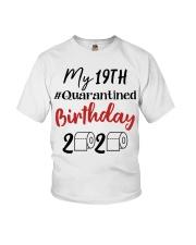 19th Birthday Quarantined 19 Year Old Youth T-Shirt thumbnail
