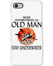 Never Underestimate An Old Man Stay Underwater  Phone Case thumbnail