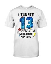 13th birthday 13 year old Classic T-Shirt tile