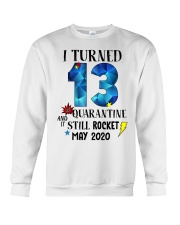13th birthday 13 year old Crewneck Sweatshirt tile